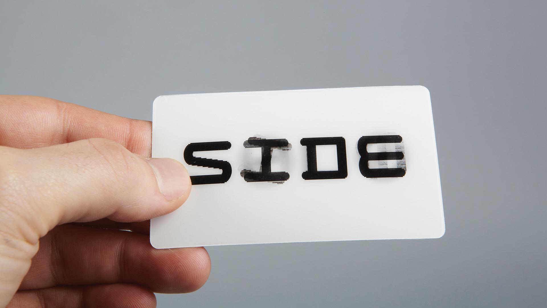 Sideshow – Sagmeister & Walsh