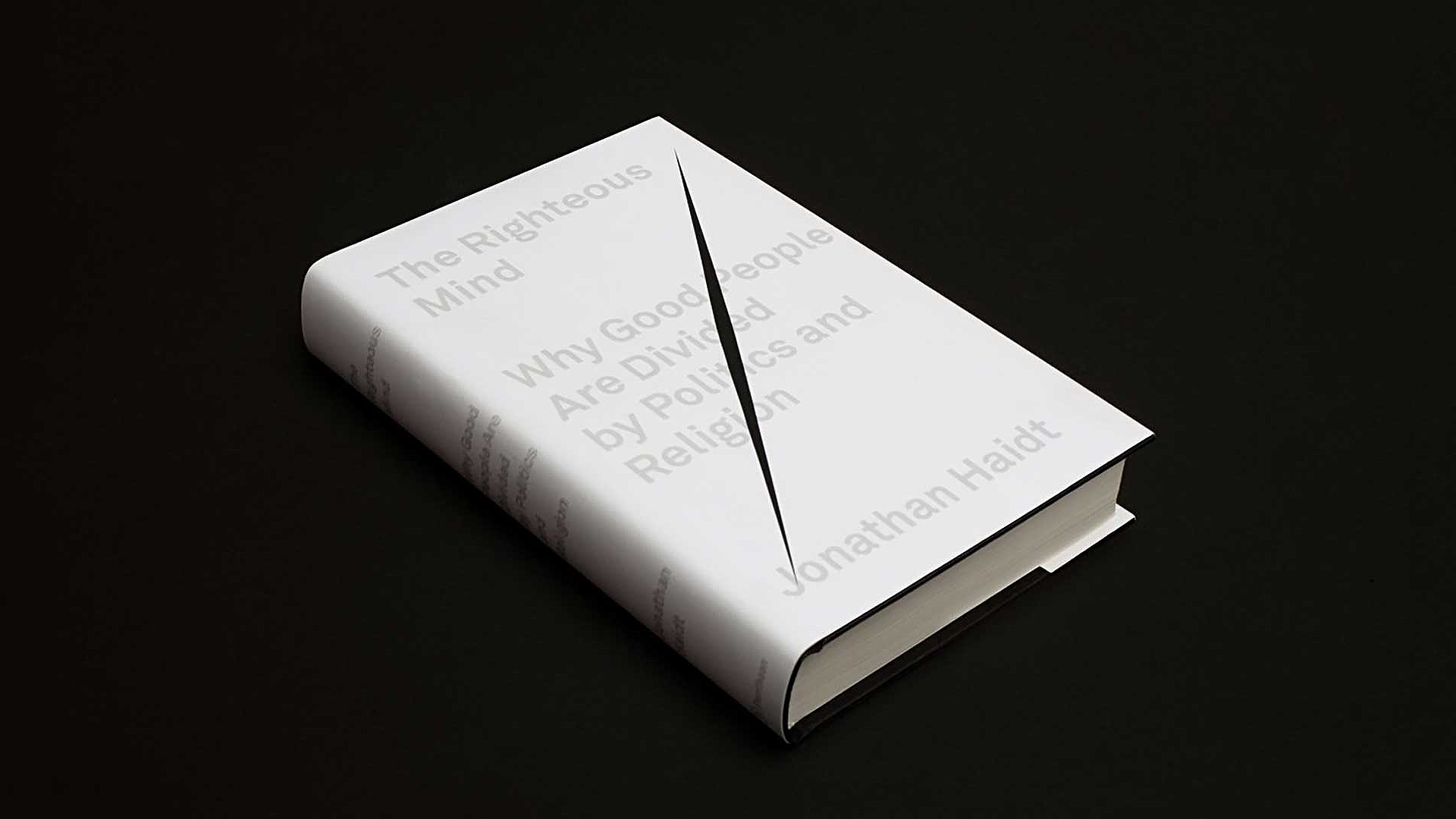Book Cover White Zinfandel : The righteous mind cover sagmeister walsh